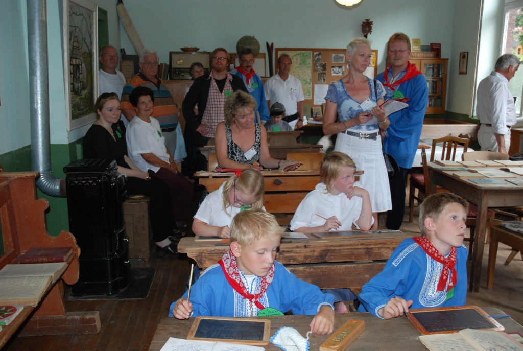 In diesem Bild sehen sie die Benkhäuser Dorfschule