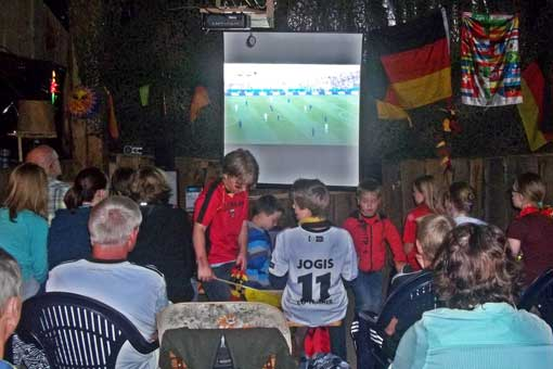 Benkhausen Fußballscheune
